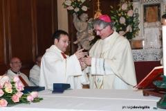 Prima Visita del Vescovo Fernando e Anniversario di d. Totò
